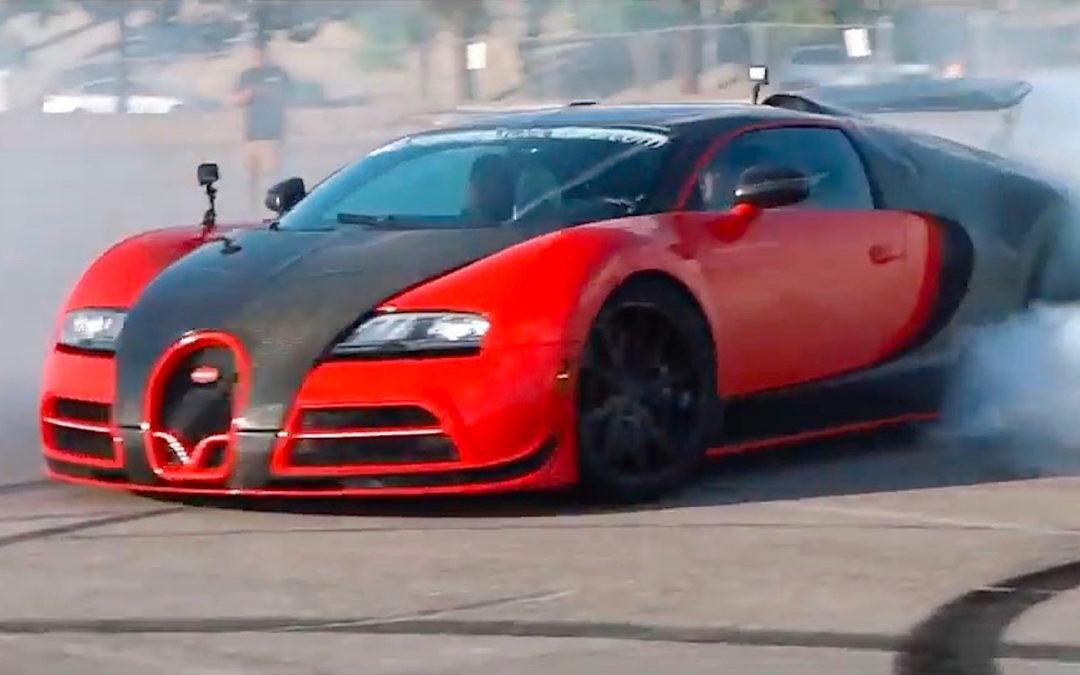 Bugatti Veyron RWD… La burn(e) machine ultime ?!