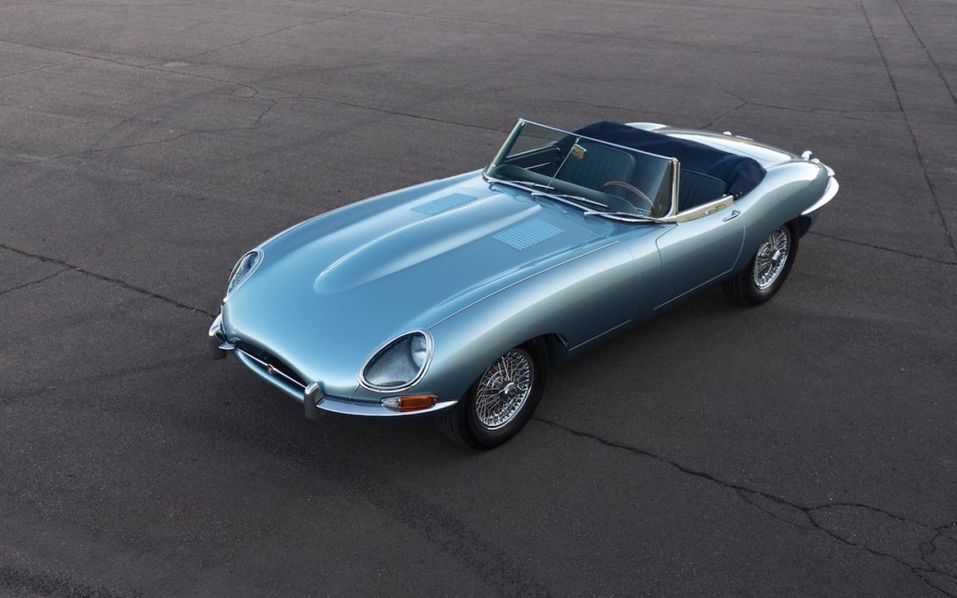 '66 Jaguar Type E 4.2l Roadster… Majestueuse !