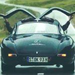 Magnus Walker en Mercedes 300 SL... C'est Porsche qui va être jaloux !
