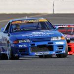 Nissan Skyline R32 GTR Calsonic…  Godzilla attack !