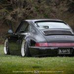 Spring Event #5 : Slammed Porsche 964 C4… Olivier's cruiser !