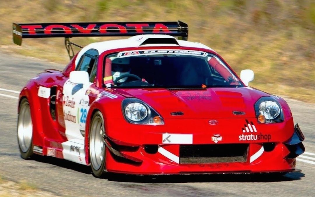 Hillclimb Monster : Toyota MR-S – Super GT V6 Turbo…