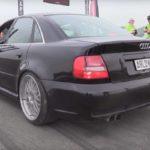 Audi S4 – Ca sert à rien pour rouler à 80