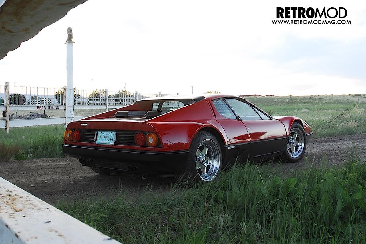 Ferrari 512 BB restomod... Ca va piquer chez les frustrés ! 3