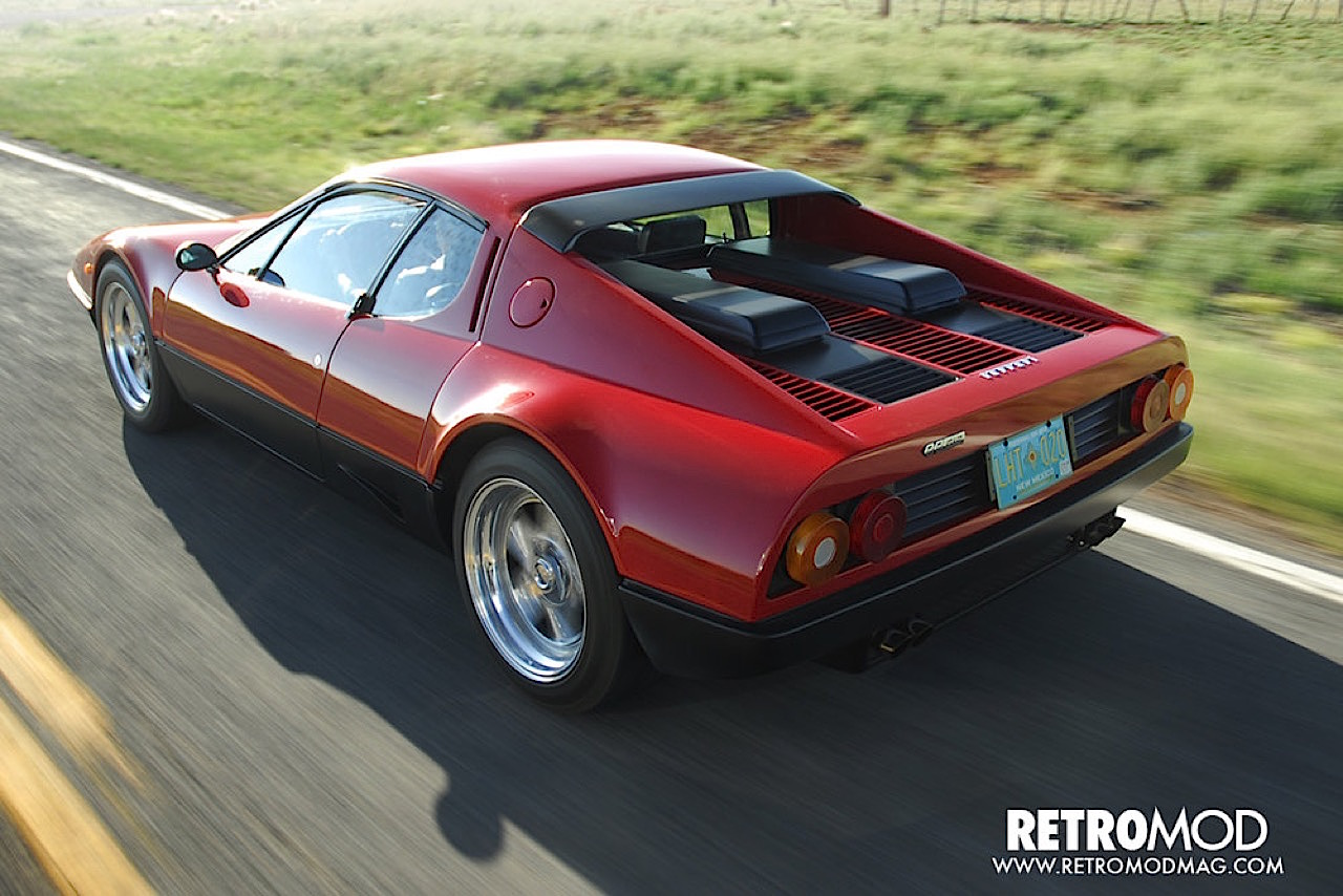 Ferrari 512 BB restomod... Ca va piquer chez les frustrés ! 1