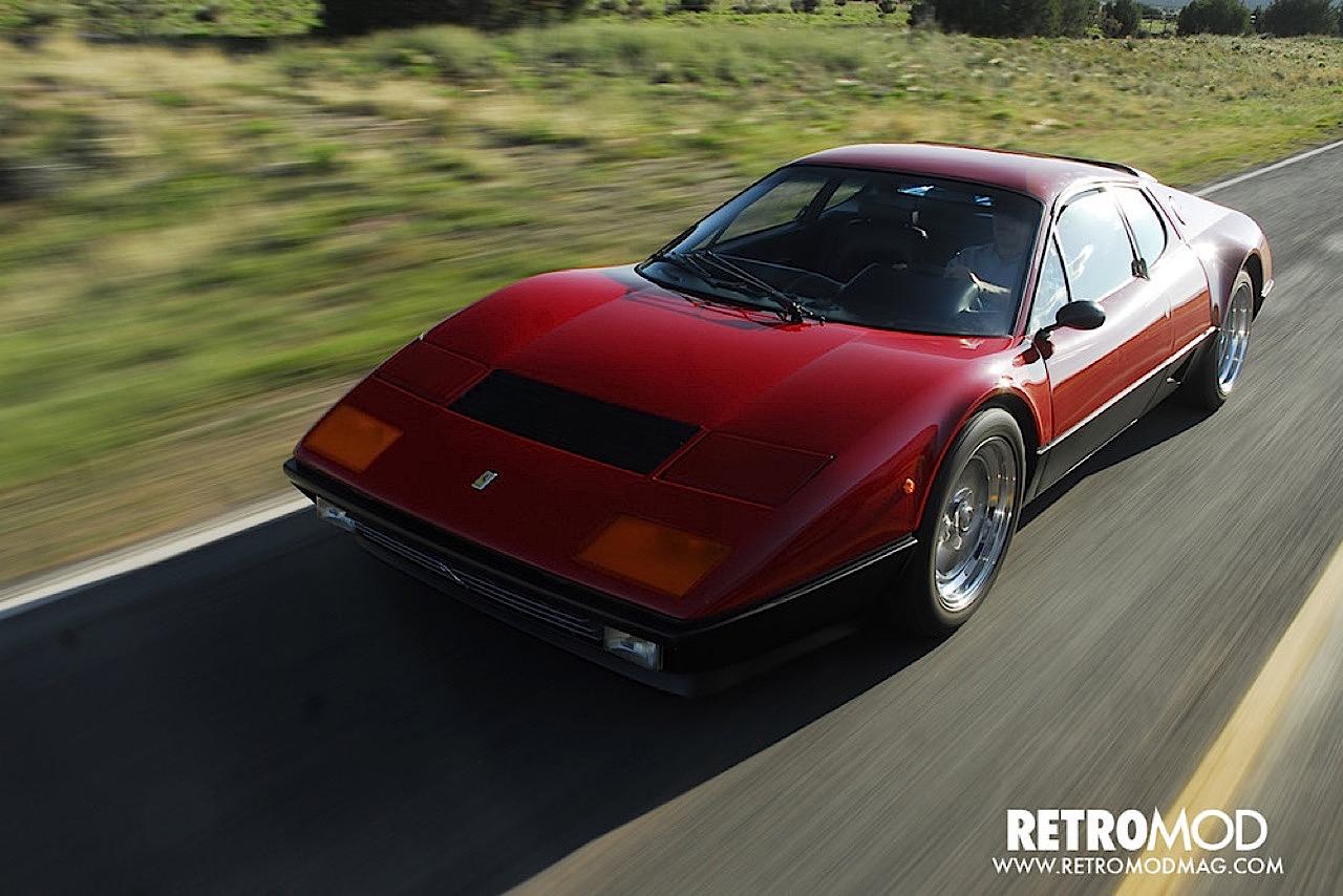 Ferrari 512 BB restomod... Ca va piquer chez les frustrés ! 4