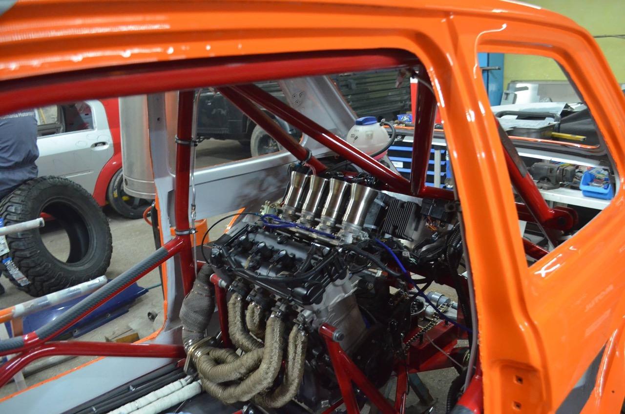 Hillclimb Monster : Fiat 126 Hayabusa... Little bomb ! 2