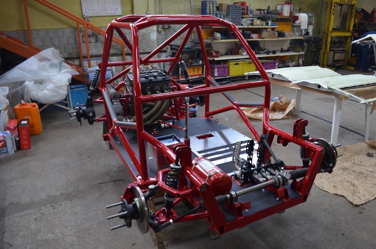Hillclimb Monster : Fiat 126 Hayabusa... Little bomb ! 1