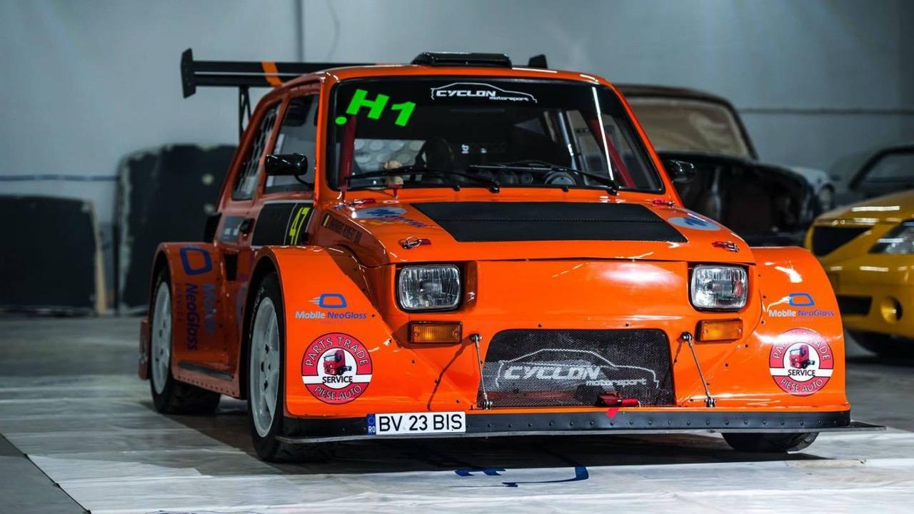 Hillclimb Monster : Fiat 126 Hayabusa... Little bomb ! 3