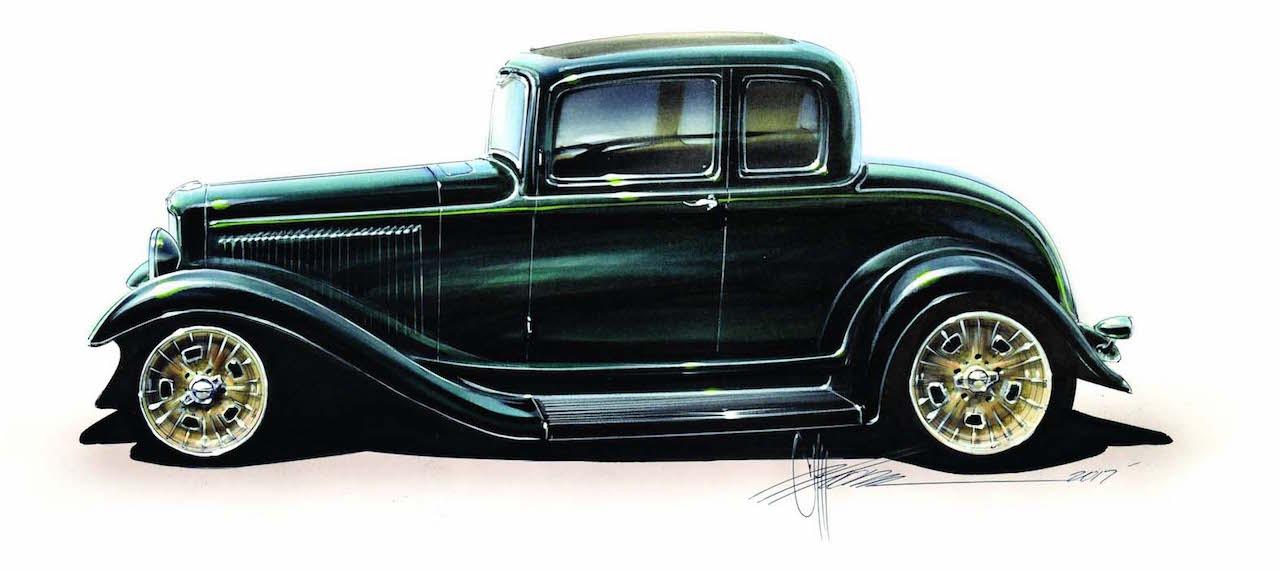 Ford 32 Deuce - Signé Chip Foose... 22