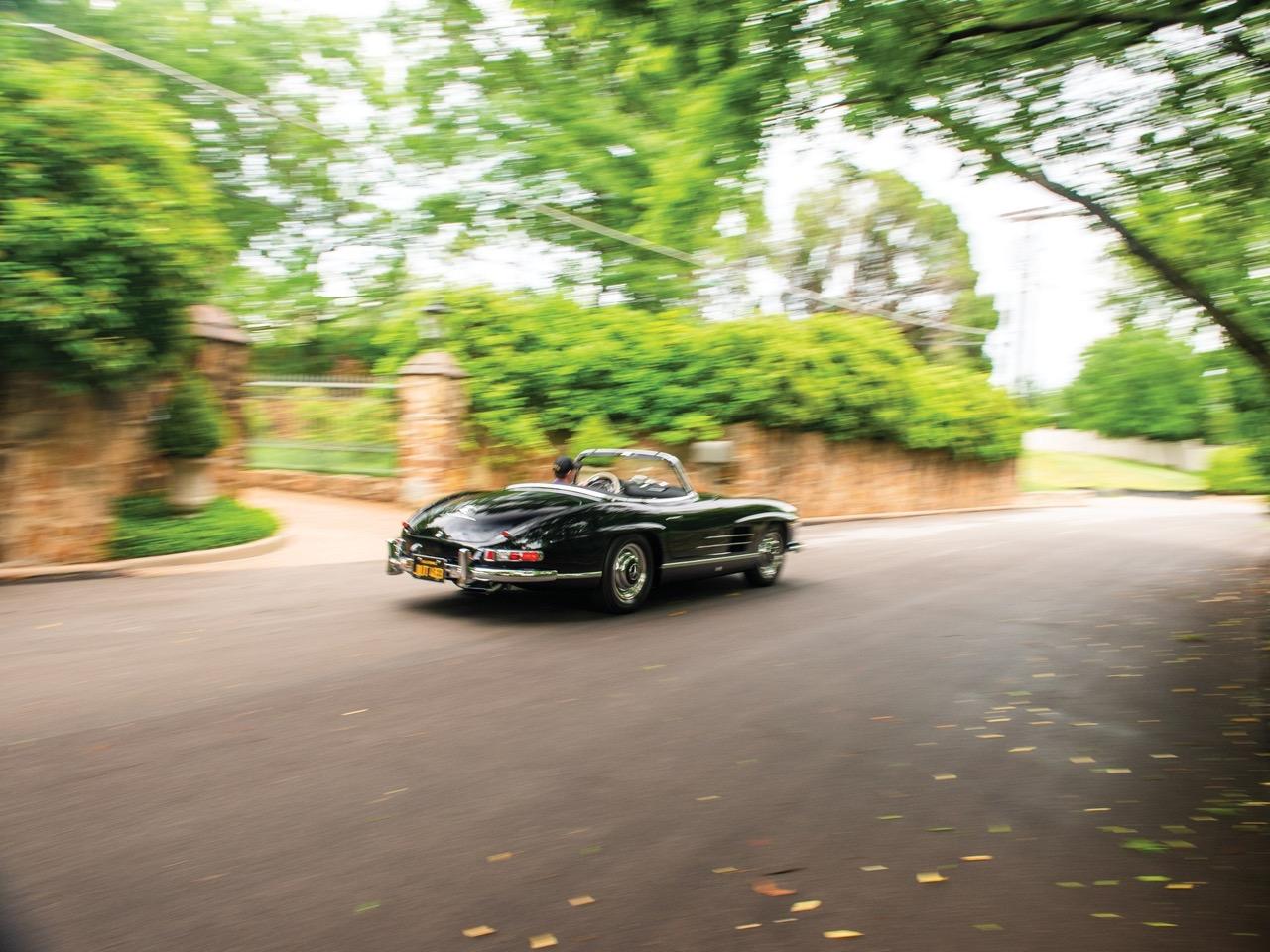 Mercedes 300 SL... roadster - Pure beauté ! 4