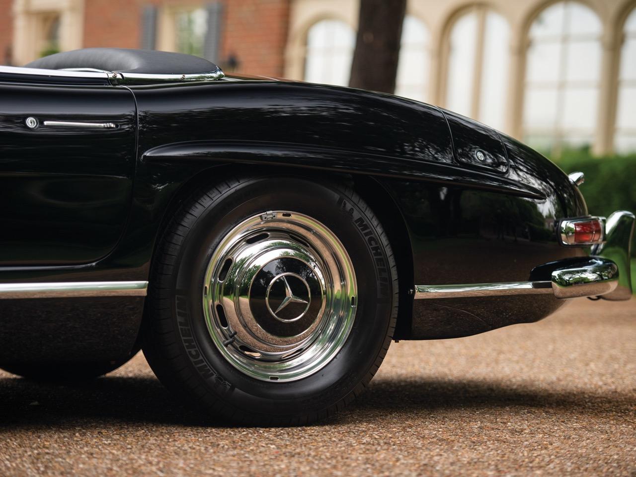 Mercedes 300 SL... roadster - Pure beauté ! 23