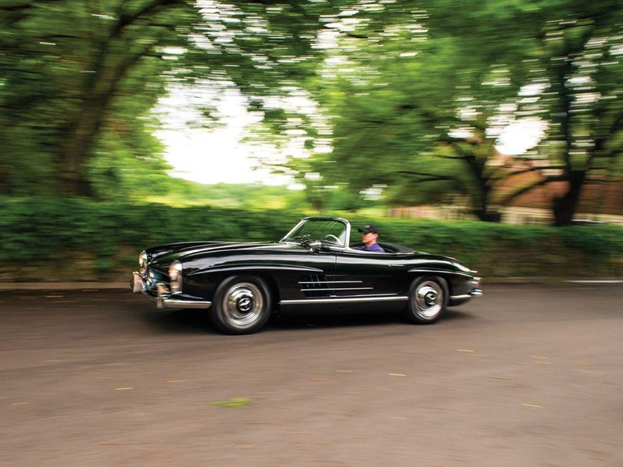 Mercedes 300 SL... roadster - Pure beauté ! 22