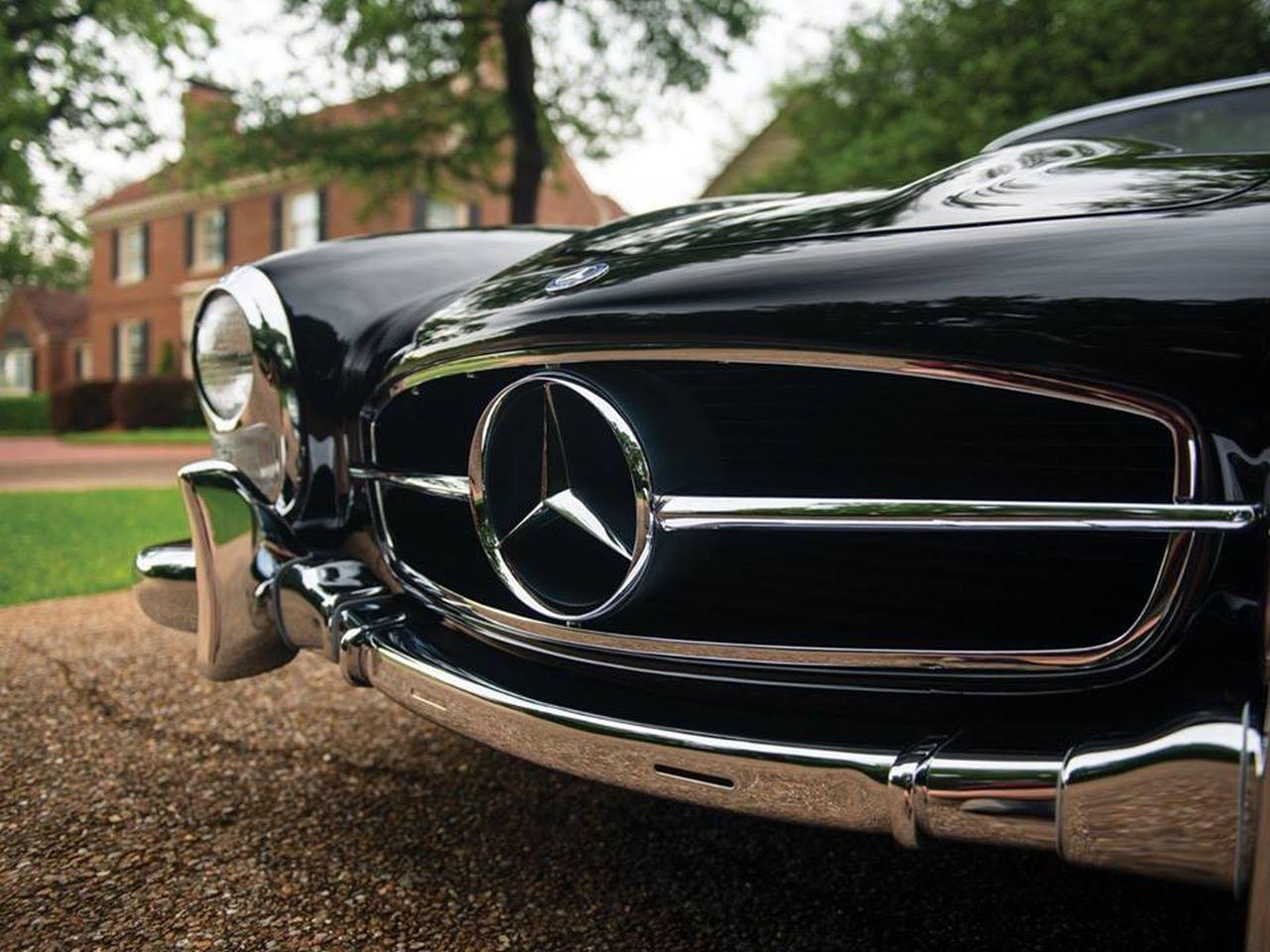 Mercedes 300 SL... roadster - Pure beauté ! 25