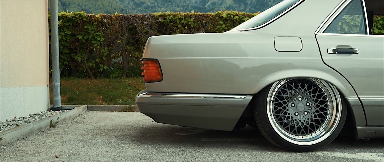 Mercedes 420 SE w126 - Sond'Air Klasse ! 4