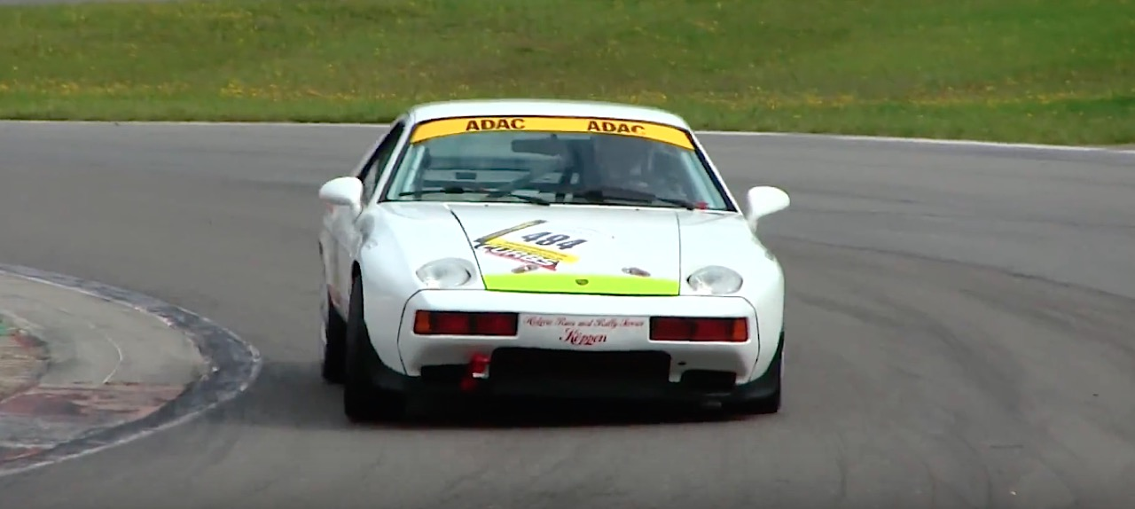 Engine Sound : Porsche 928 en Straight Pipe... Muscle car ?! 30