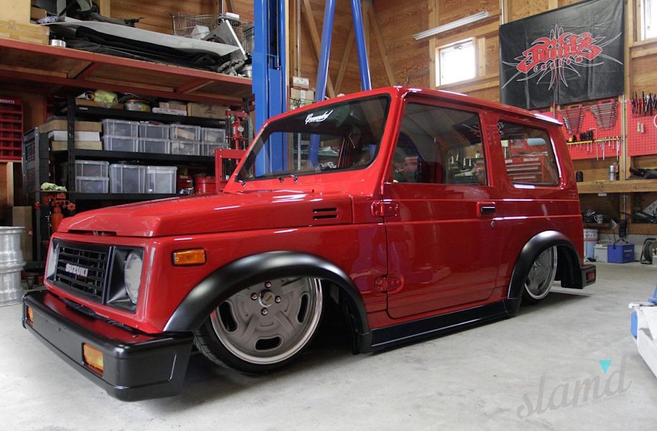 Slammed Suzuki SJ... Micro Machine ! 38