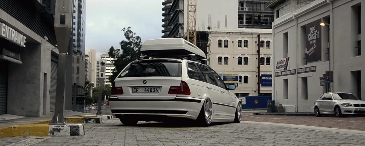 Bagged BMW E46 Touring - Pendant ce temps la, devant mon pc... #2 5