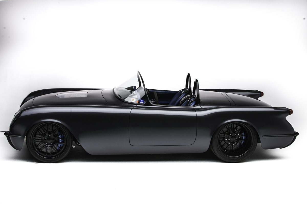 '54 Corvette C1 Timeless Kustoms - The Death Star... 1