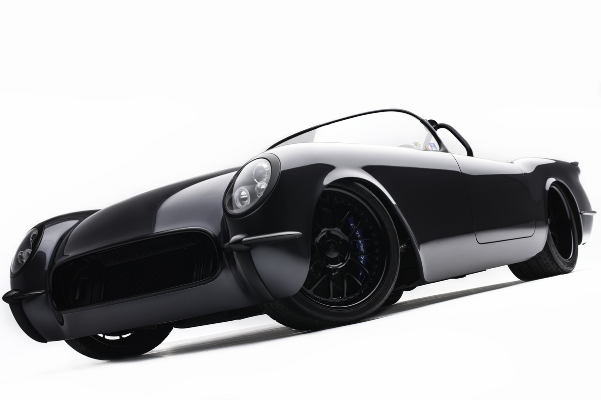 '54 Corvette C1 Timeless Kustoms - The Death Star... 9