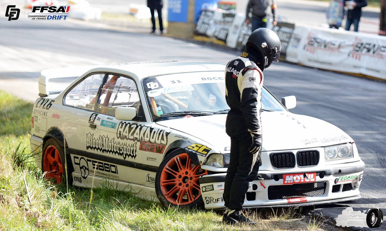 #Drifteur : Anthony Rocci et son E36 ! 36