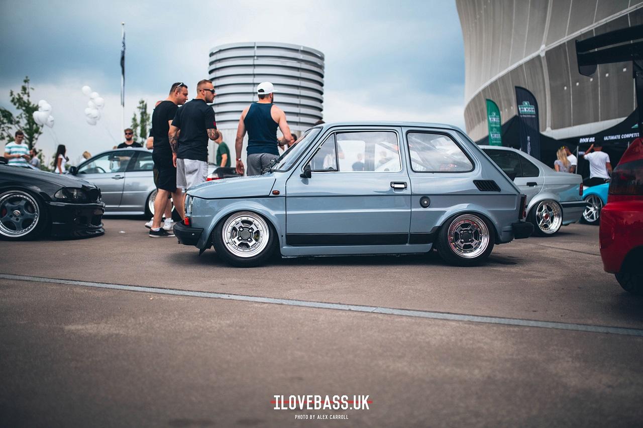 Slammed Fiat 126 - Mini Caisse, Maxi style ! 1