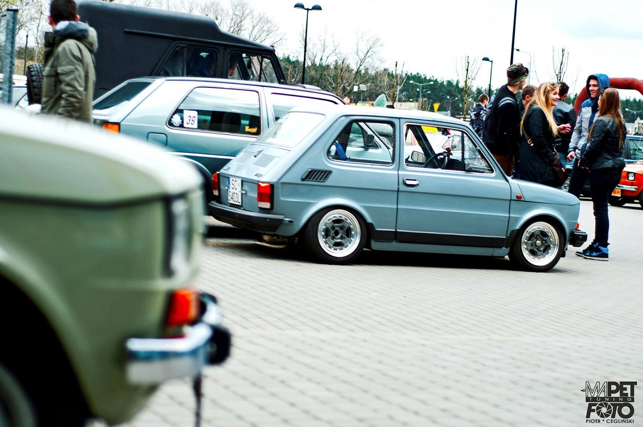 Slammed Fiat 126 - Mini Caisse, Maxi style ! 2