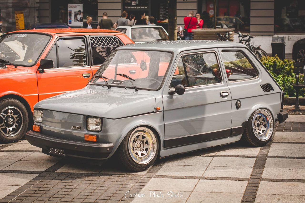 Slammed Fiat 126 - Mini Caisse, Maxi style ! 6