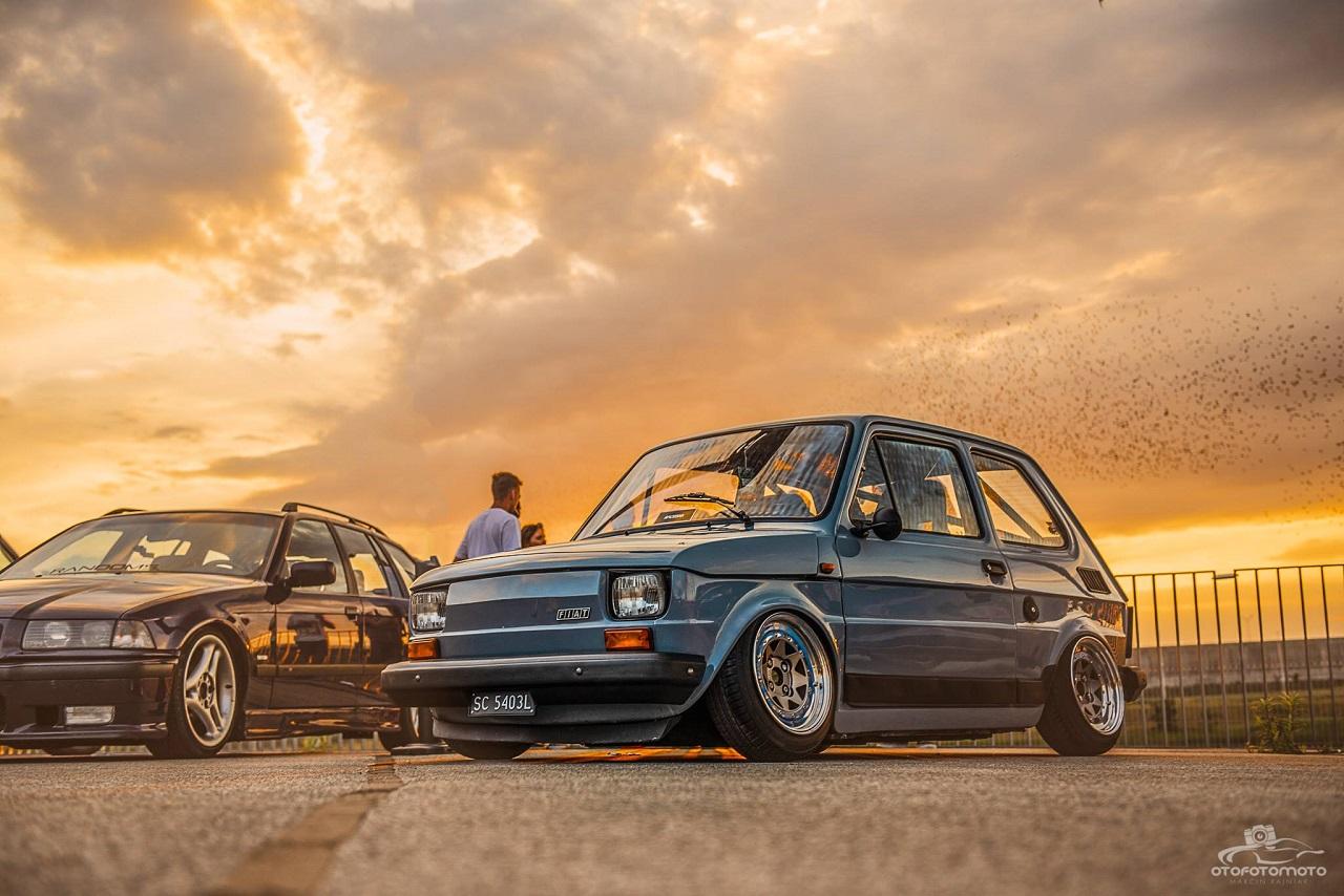 Slammed Fiat 126 - Mini Caisse, Maxi style ! 4