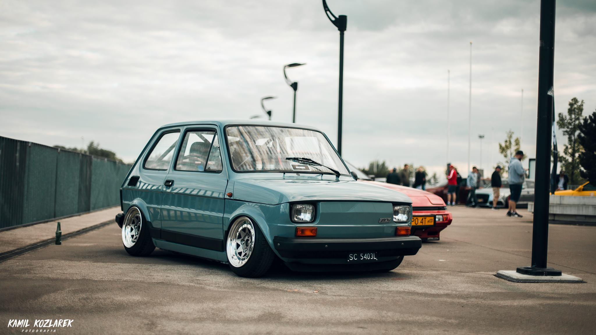 Slammed Fiat 126 - Mini Caisse, Maxi style ! 3