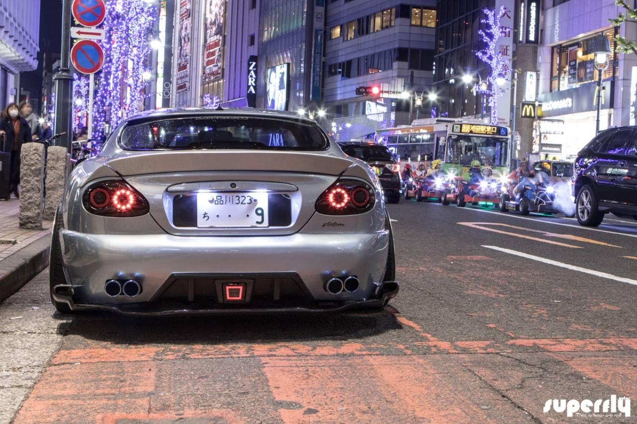 2001 Jaguar XKR - British Vibes in Tokyo ! 9