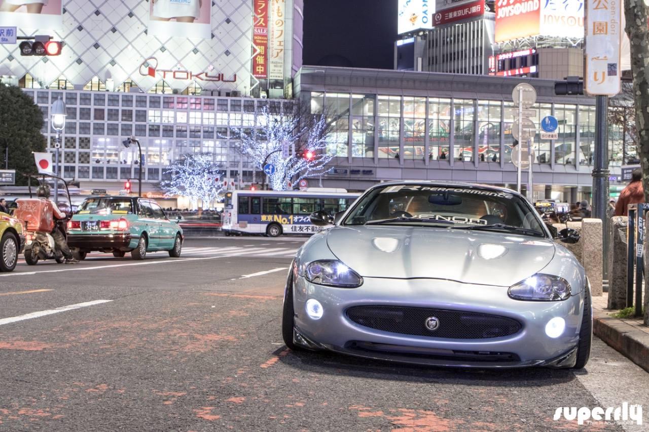 2001 Jaguar XKR - British Vibes in Tokyo ! 8