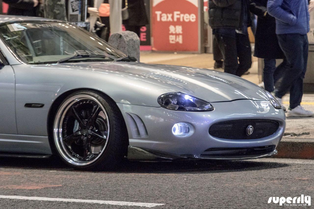 2001 Jaguar XKR - British Vibes in Tokyo ! 7