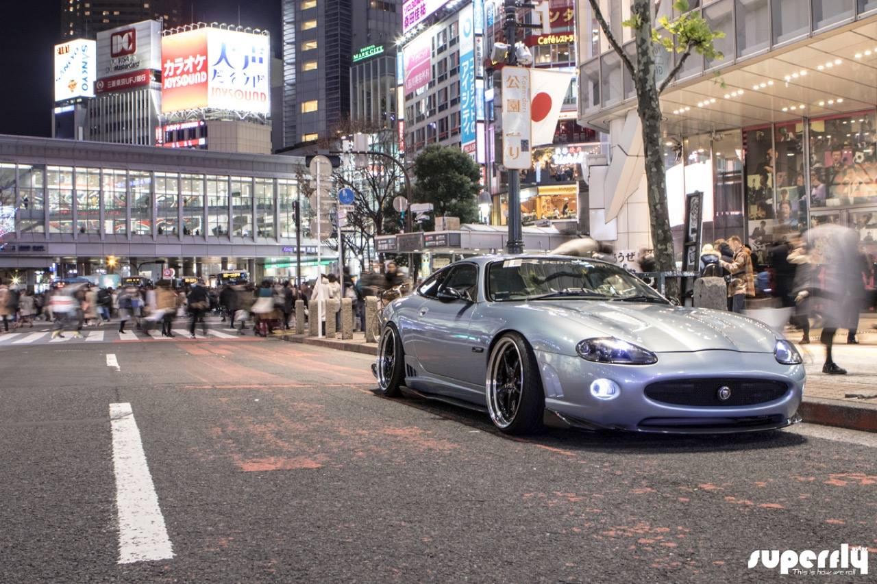 2001 Jaguar XKR - British Vibes in Tokyo ! 3