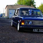 Polski Fiat 125P Airride - Italo-Polonaise au cœur Anglais...