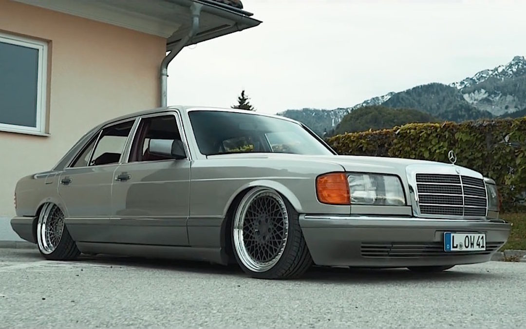 Mercedes 420 SE w126 – Sond'Air Klasse !