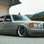 Mercedes 420 SE w126 - Sond'Air Klasse !