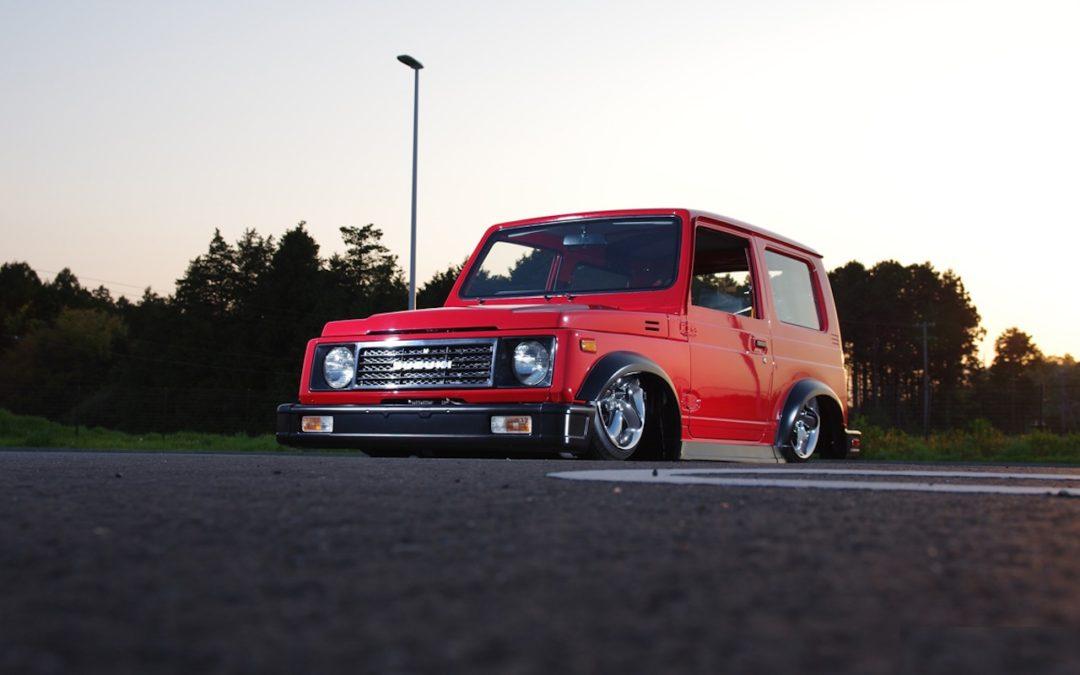Slammed Suzuki SJ… Micro Machine !