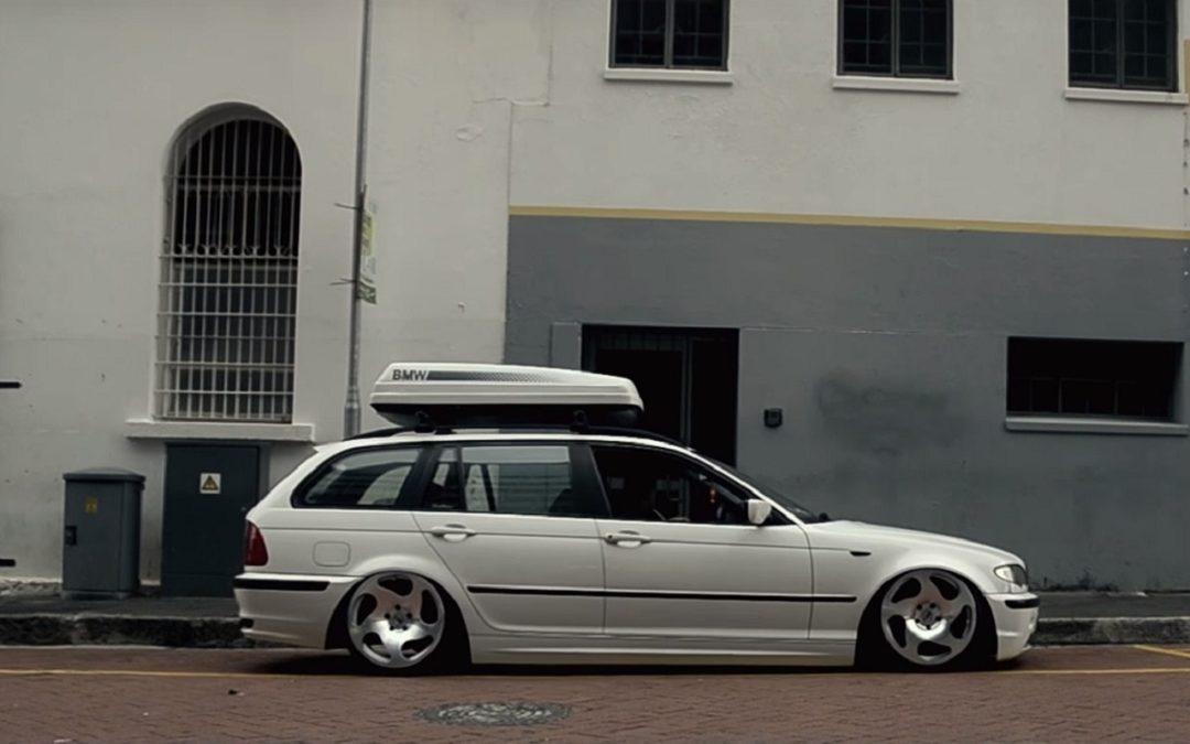 Bagged BMW E46 Touring – Pendant ce temps la, devant mon pc… #2