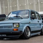 Slammed Fiat 126 – Mini Caisse, Maxi style !