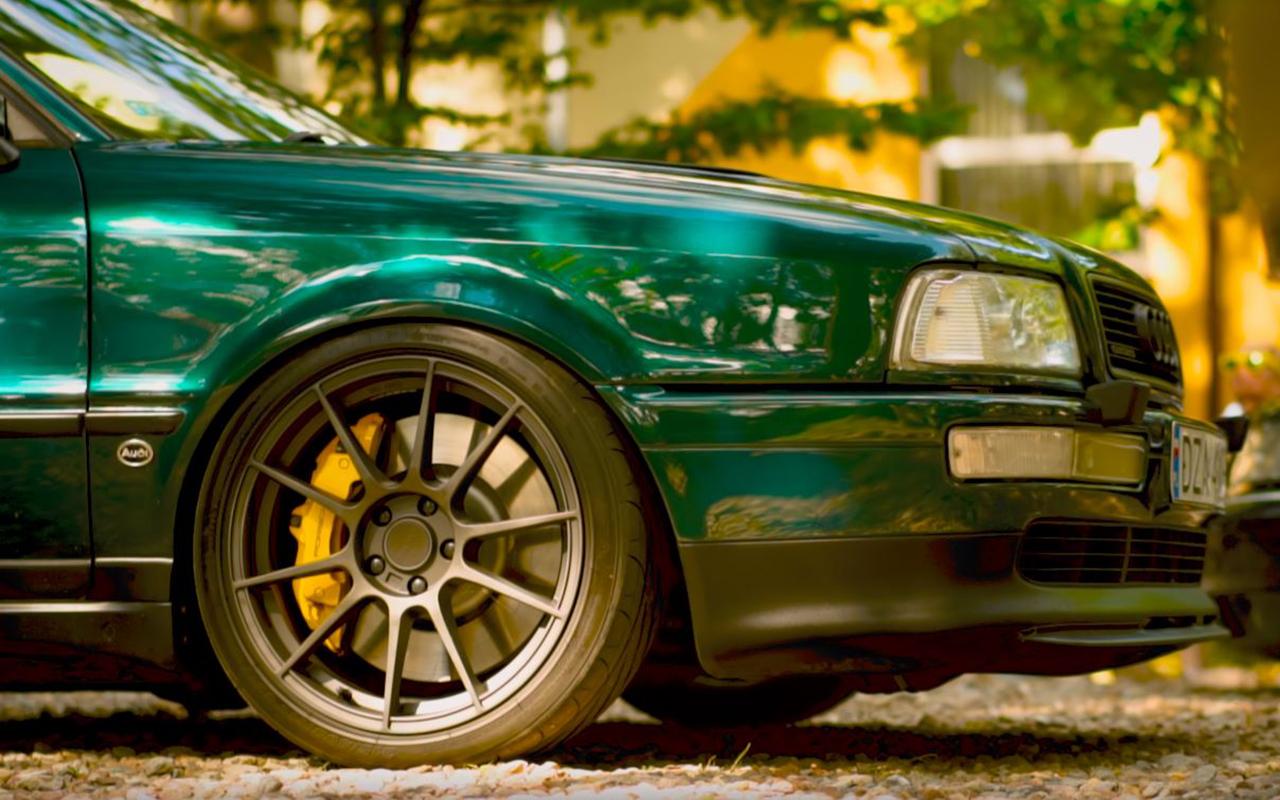 Audi 80 V8 biturbo : Féroce ! 8