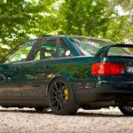 Audi 80 V8 biturbo : Féroce !