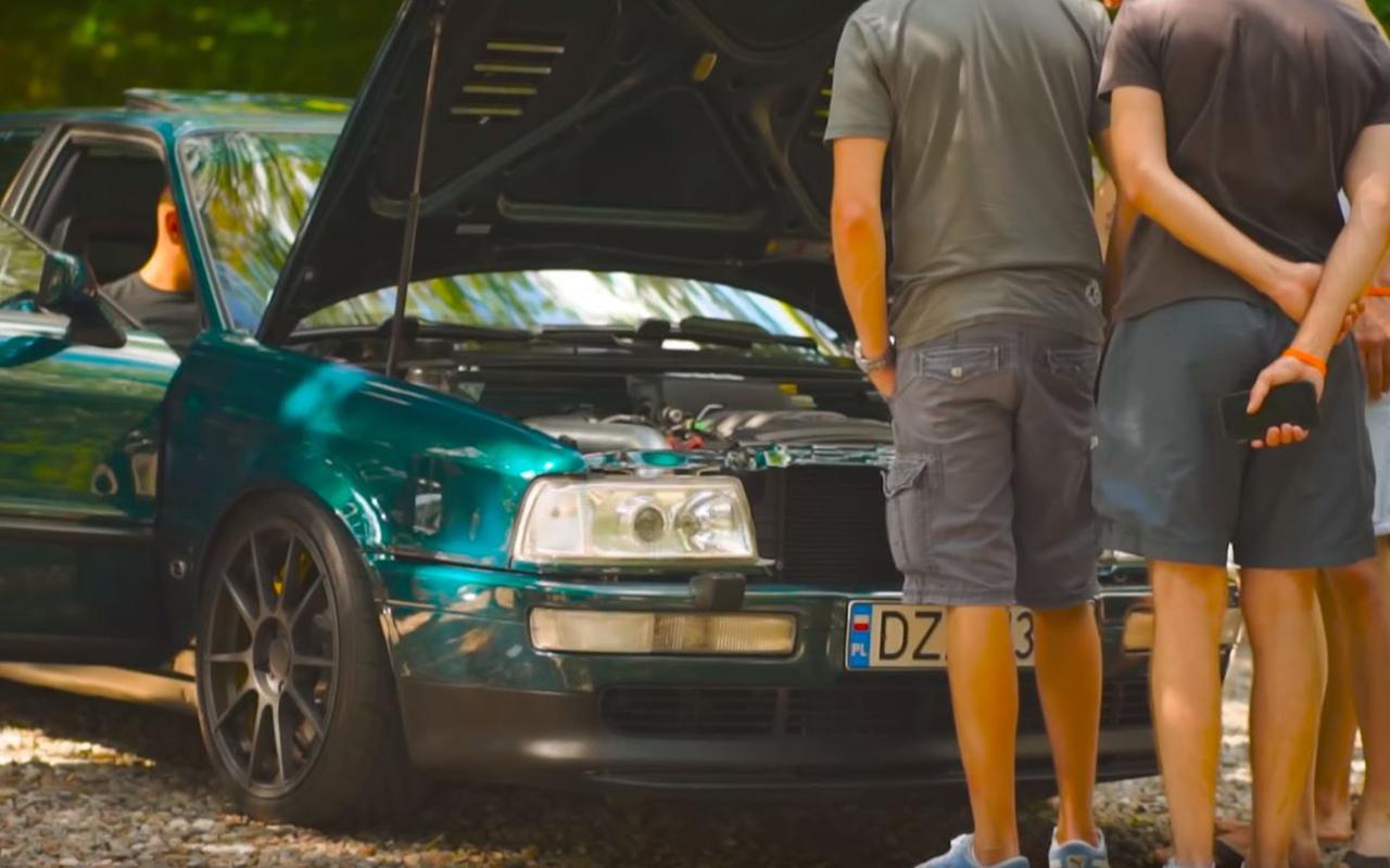 Audi 80 V8 biturbo : Féroce ! 7