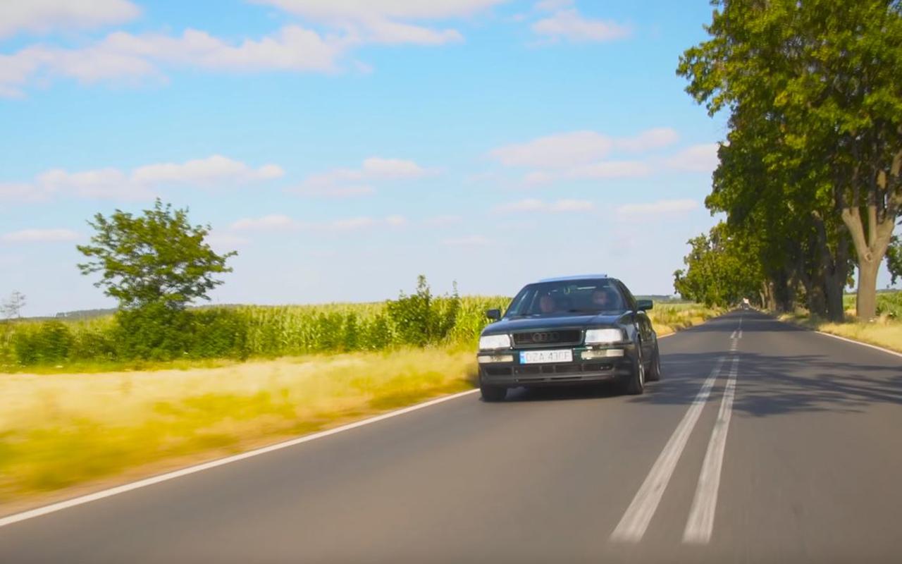 Audi 80 V8 biturbo : Féroce ! 9