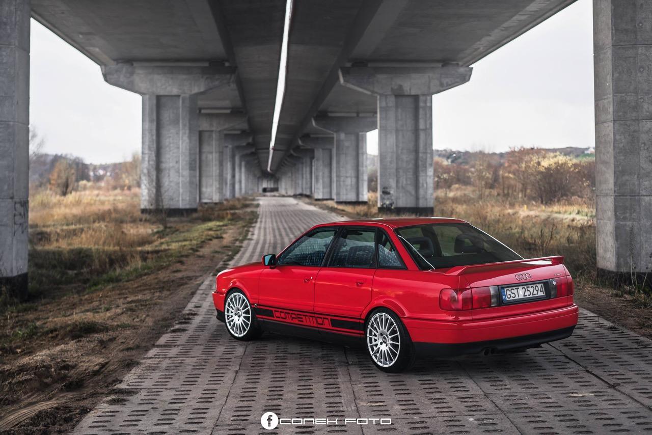 Audi 80 Compétition... Série limitée, encore plus limitée ! 55