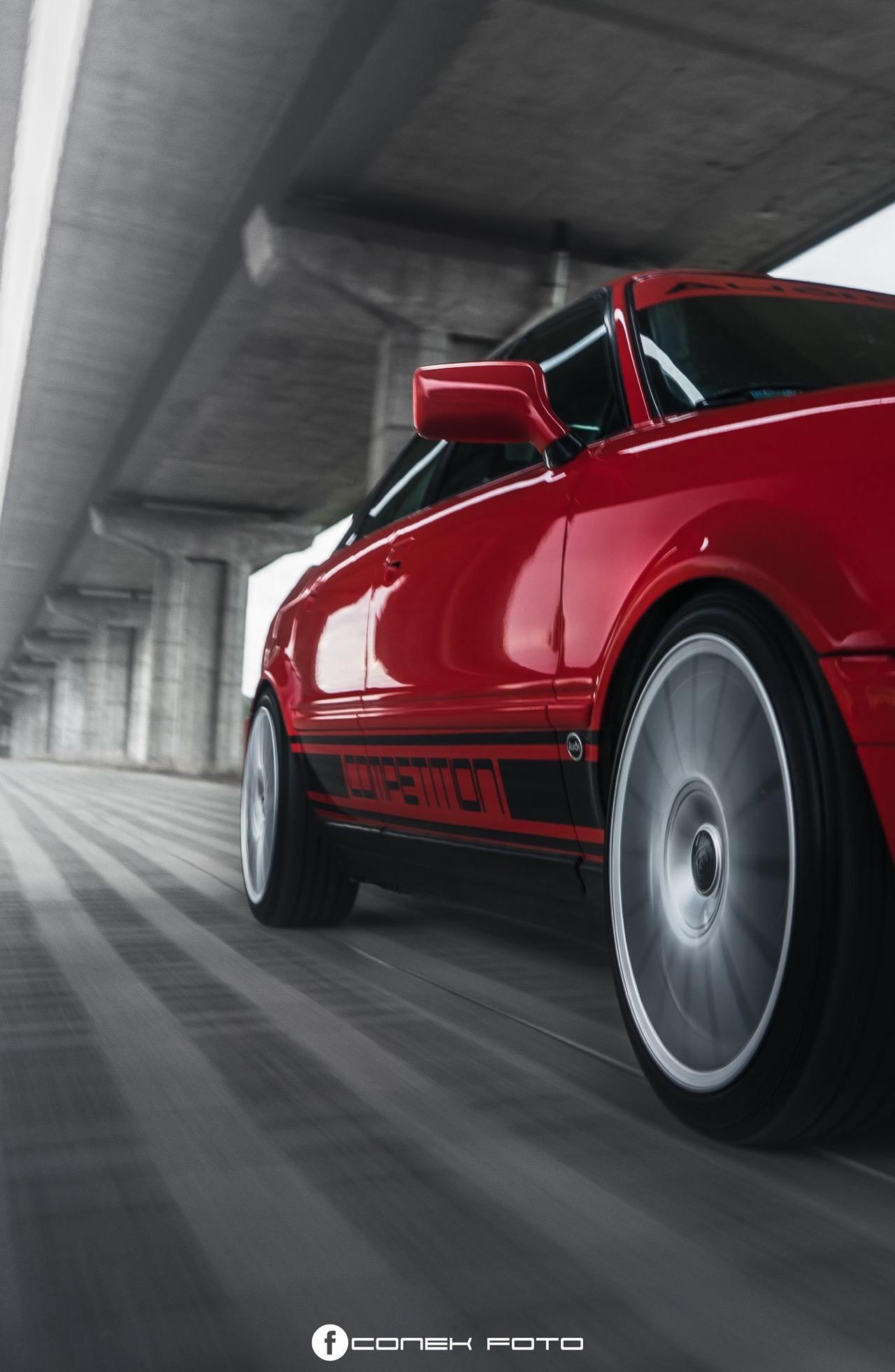 Audi 80 Compétition... Série limitée, encore plus limitée ! 48