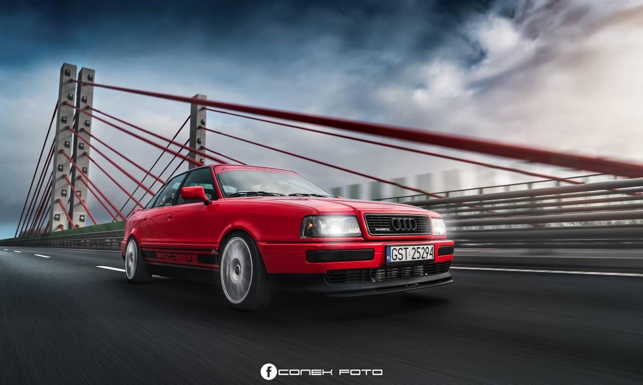 Audi 80 Compétition... Série limitée, encore plus limitée ! 45