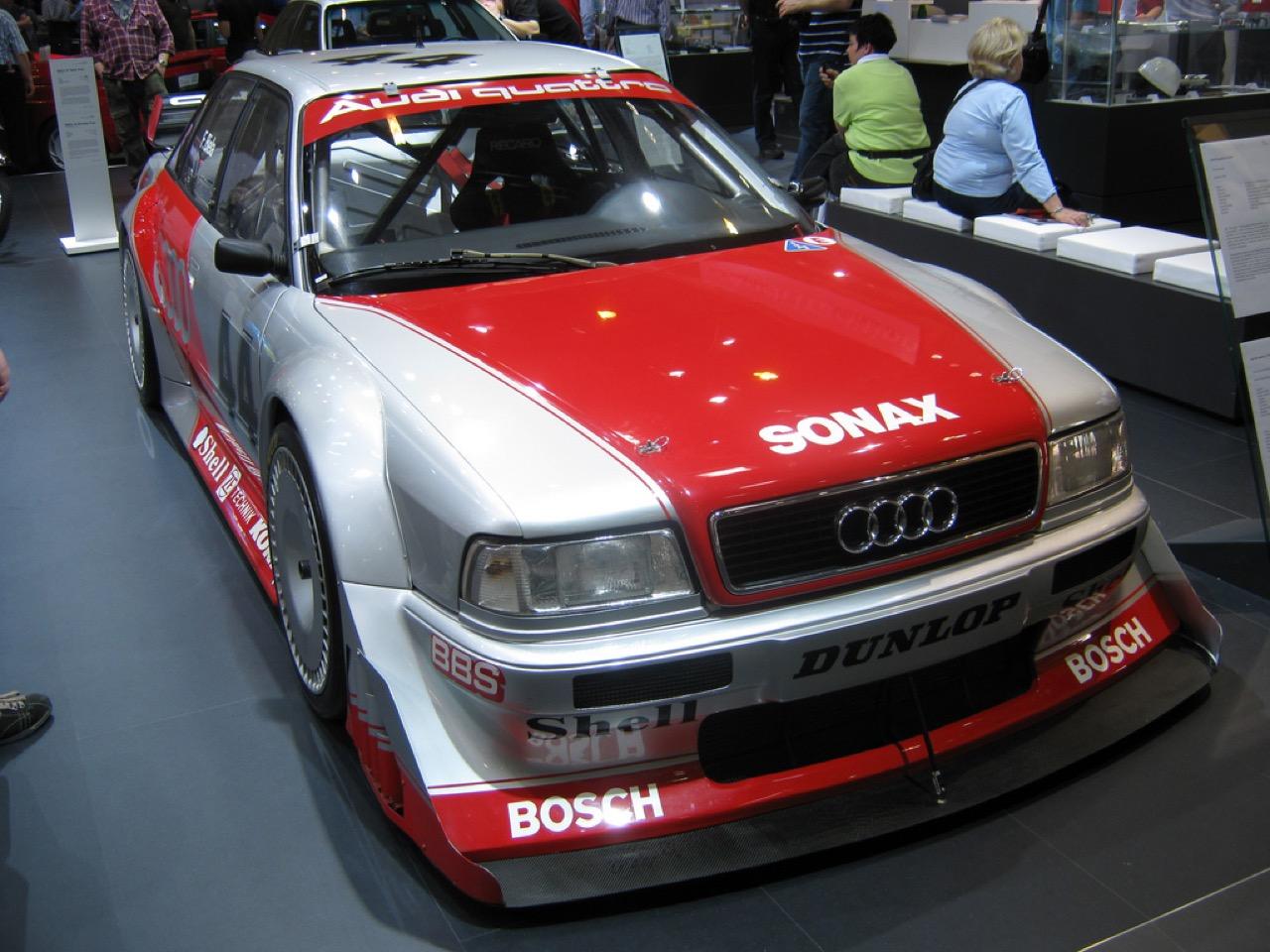 Audi 80 V6 DTM... V6 ? DTM ? C'est quoi c'bordel ?! 35