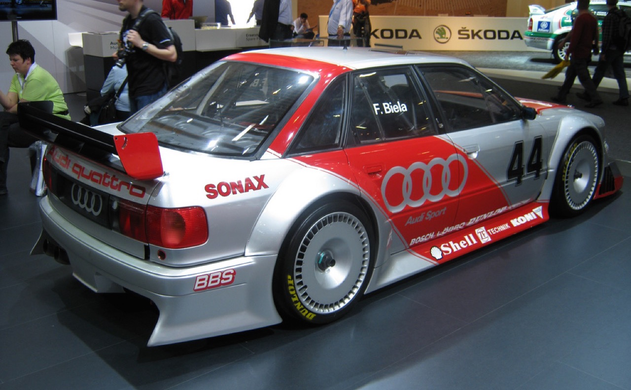 Audi 80 V6 DTM... V6 ? DTM ? C'est quoi c'bordel ?! 10