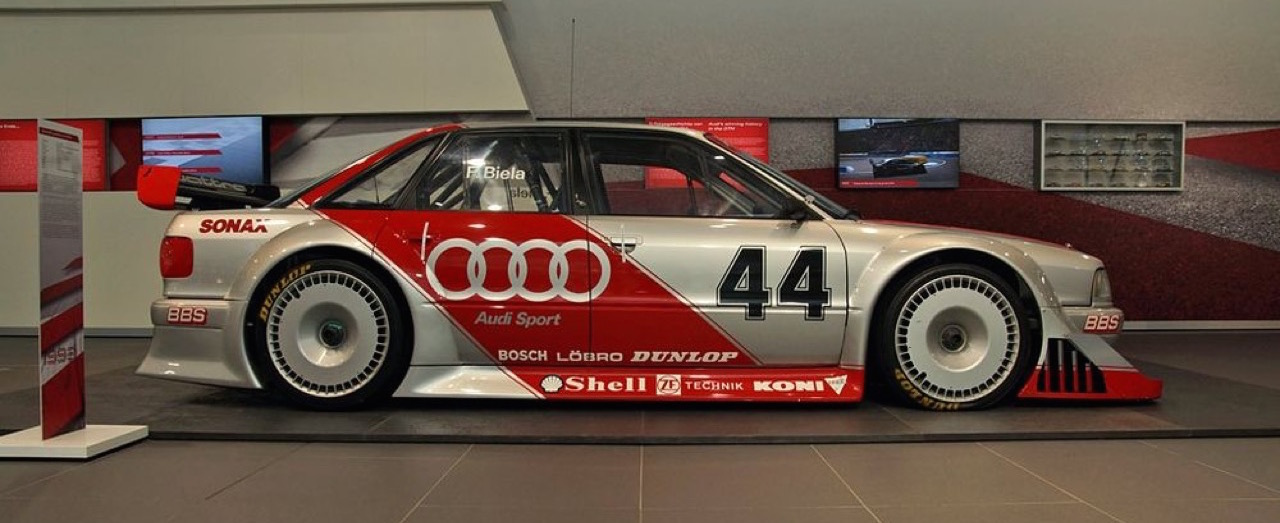 Audi 80 V6 DTM... V6 ? DTM ? C'est quoi c'bordel ?! 9